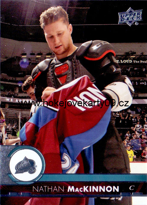 17-18 Upper Deck - Nathan MacKINNON č. 48