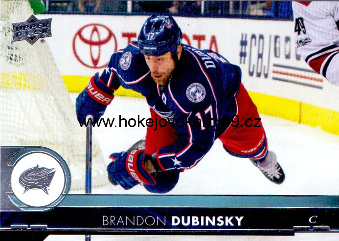 17-18 Upper Deck - Brandon DUBINSKY č. 51
