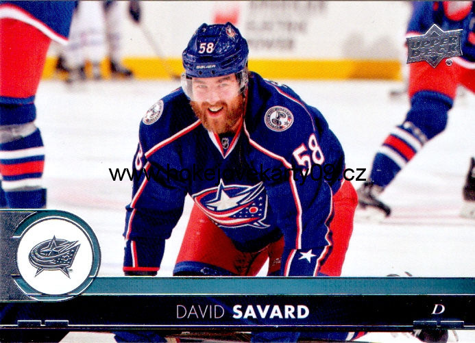 17-18 Upper Deck - David SAVARD č. 52