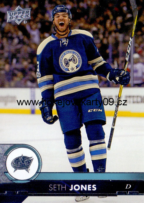 17-18 Upper Deck - Seth JONES č. 55