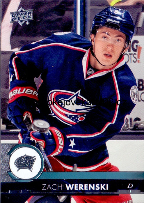 17-18 Upper Deck - Zach WERENSKI č. 56