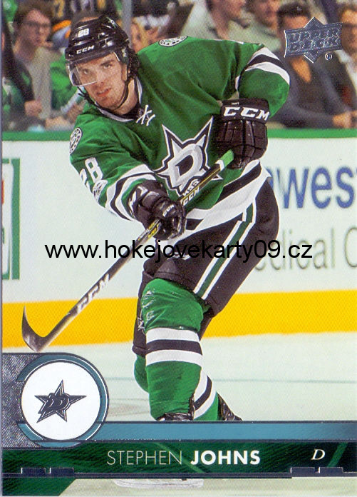 17-18 Upper Deck - Stephen JOHNS č. 63