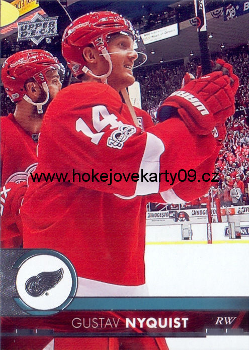 17-18 Upper Deck - Gustav NYQUIST č. 66