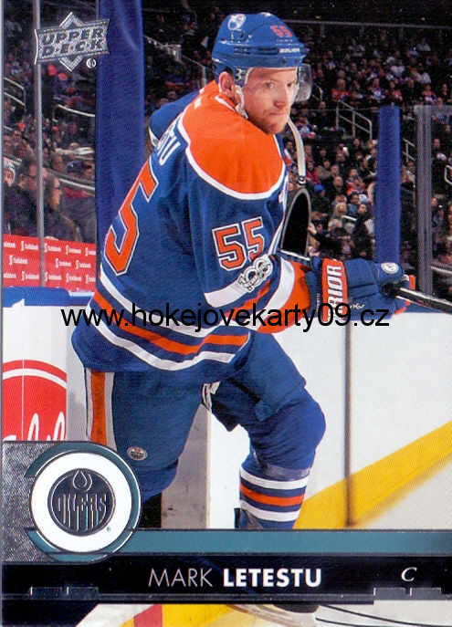 17-18 Upper Deck - Mark LETESTU č. 76