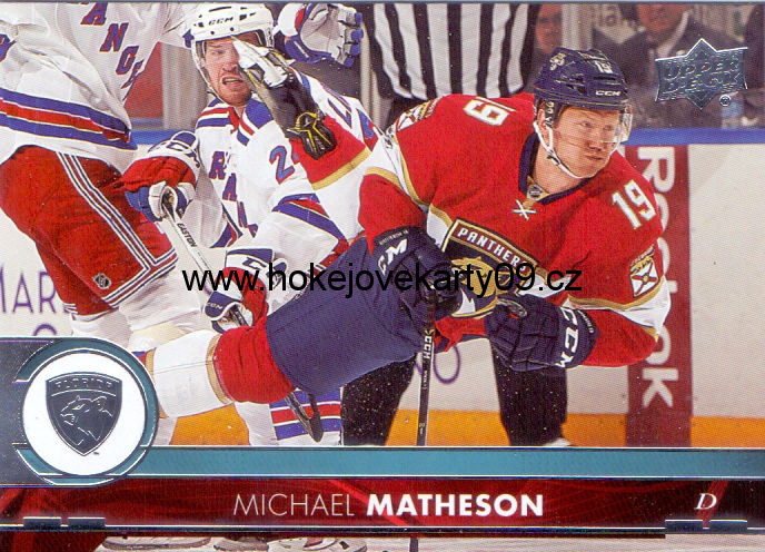 17-18 Upper Deck - Michael MATHESON č. 83