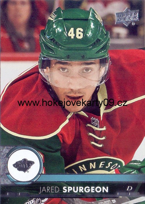 17-18 Upper Deck - Jared SPURGEON č. 95