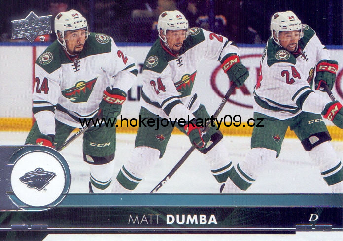 17-18 Upper Deck - Matt DUMBA č. 98
