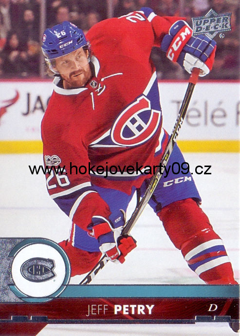 17-18 Upper Deck - Jeff PETRY č. 103