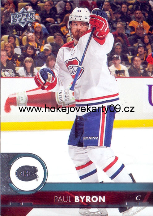 17-18 Upper Deck - Paul BYRON č. 104