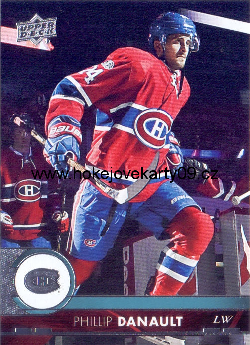 17-18 Upper Deck - Phillip DANAULT č. 105