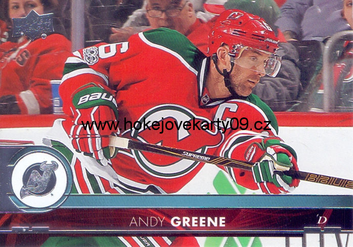 17-18 Upper Deck - Andy GREENE č. 119