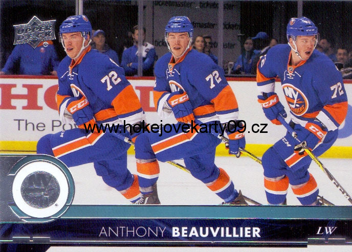 17-18 Upper Deck - Anthony BEAUVILLIER č. 120