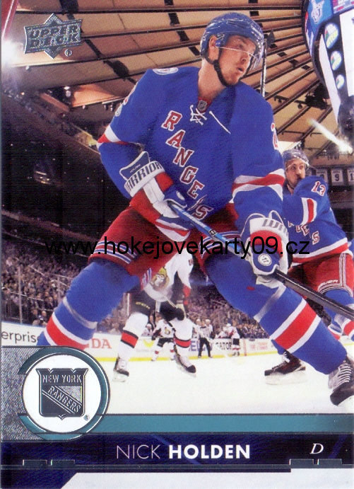 17-18 Upper Deck - Nick HOLDEN č. 130