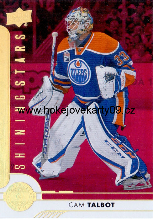 17-18 Upper Deck - Cam TALBOT č. SSG-4 RED