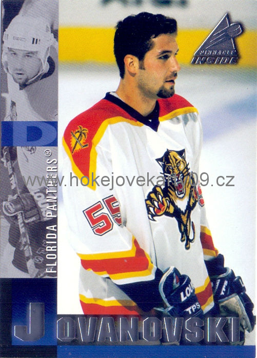 97-98 Pinnacle Inside - Ed JOVANOVSKI č. 86