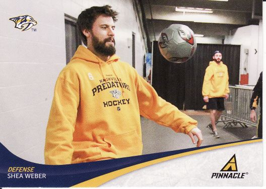 2011-12 Pinnacle - Shea WEBER č. 6