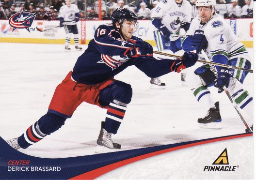 2011-12 Pinnacle - Derick BRASSARD č. 16