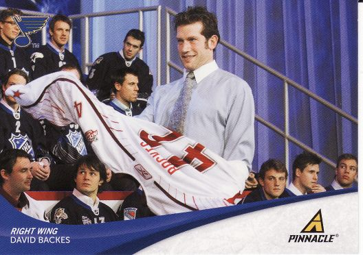 2011-12 Pinnacle - David BACKES č. 42