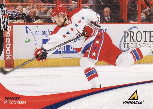 2011-12 Pinnacle - Mike GREEN č. 52