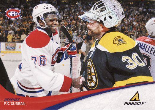 2011-12 Pinnacle - P.K SUBBAN č. 76