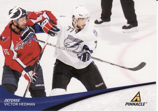 2011-12 Pinnacle - Victor HEDMAN č. 77