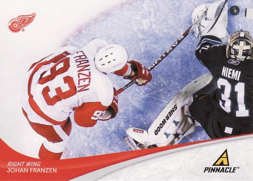 2011-12 Pinnacle - Johan FRANZEN č. 93