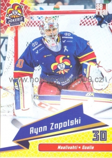 18-19 Jokerit - Ryan ZAPOLSKI č. JOK-BAS-001