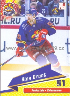 18-19 Jokerit - Alex GRANT č. JOK-BAS-009