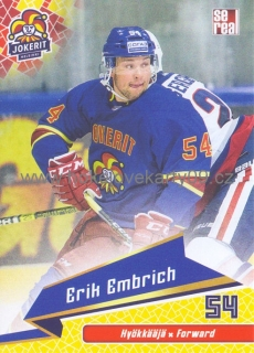 18-19 Jokerit - Erik EMBRICH č. JOK-BAS-022