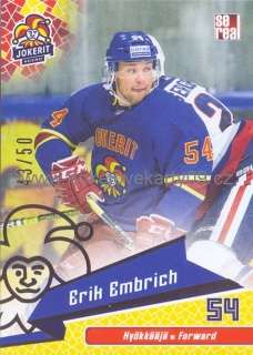 18-19 Jokerit - Erik EMBRICH č. JOK-BAS-022 GOLD