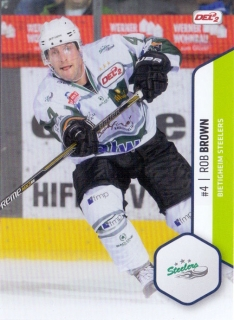 16-17 DEL2 - Rob BROWN č. 004