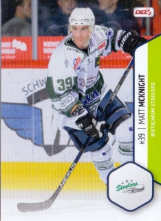 16-17 DEL2 - Matt McKNIGHT č. 015