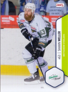 16-17 DEL2 - Shawn WELLER č. 017