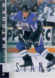 97-98 Upper Deck - Derian HATCHER č. 51