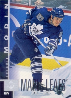 97-98 Upper Deck - Fredrik MODIN č. 162