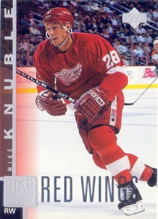 97-98 Upper Deck - Mike KNUBLE č. 187 (RC)