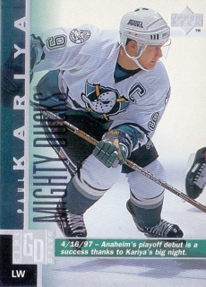 97-98 Upper Deck - Paul KARIYA č. 211