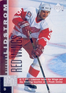 97-98 Upper Deck - Nicklas LIDSTROM č. 267