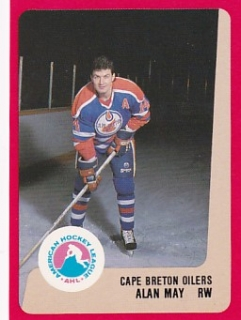 88-89 ProCards AHL/IHL - Alan MAY