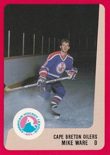 88-89 ProCards AHL/IHL - Mike WARE