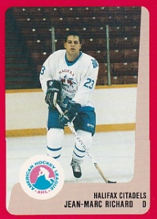 88-89 ProCards AHL/IHL - Jean-Marc RICHARD