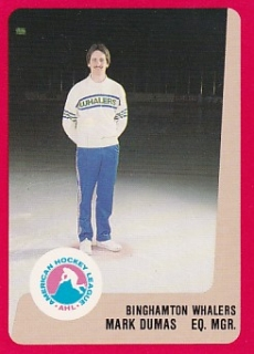 88-89 ProCards AHL/IHL - Mark DUMAS