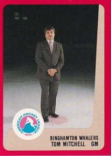 88-89 ProCards AHL/IHL - Tom MITCHELL