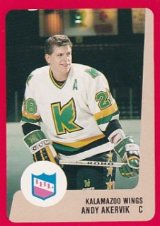 88-89 ProCards AHL/IHL - Joe LOCKWOOD