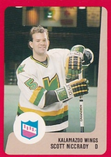 88-89 ProCards AHL/IHL - Scott McCRADY