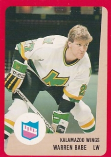 88-89 ProCards AHL/IHL - Warren BABE