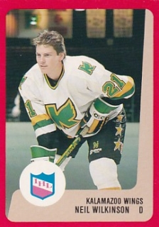 88-89 ProCards AHL/IHL - Neil WILKINSON