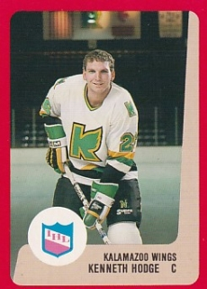 88-89 ProCards AHL/IHL - Kenneth HODGE