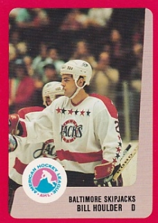 88-89 ProCards AHL/IHL - Bill HOULDER