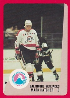 88-89 ProCards AHL/IHL - Mark HATCHER